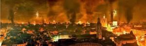 バレンシアの火祭り2014