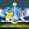 ブラジル対クロアチア