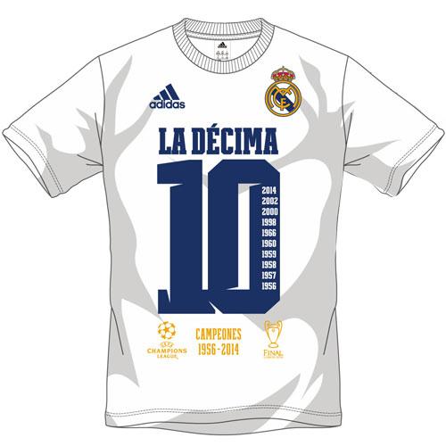 デシマとは?意味とレアルマドリードのデシマグッズTシャツ