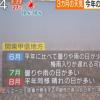 関東梅雨入りは?2014年の予想。エルニーニョ現象の影響は?
