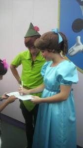 ディズニー 白雪姫、ピーターパン