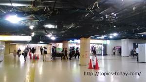 東京駅丸の内地下北口改札NewDays~八重洲方面