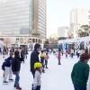 赤坂サカスのスケートリンクの混雑状況や口コミ情報をまとめています。