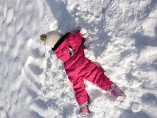 雪遊び 服装